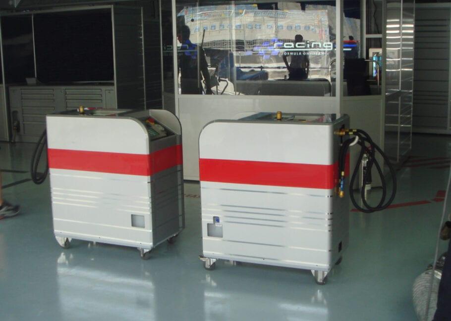 Formel-1 Tanksystem Reed